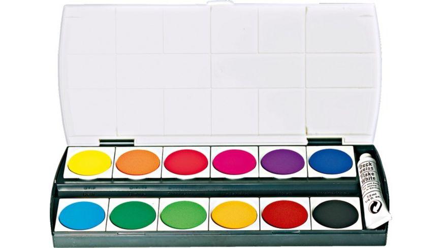 Deckfarbkasten Geha 155 12 Farben