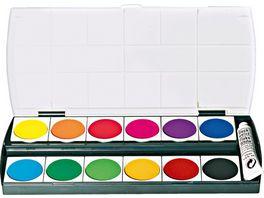 Pelikan Deckfarbkasten Geha 155 12 Farben