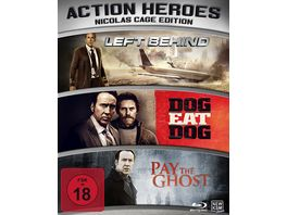 Action Heroes Nicolas Cage Edition Limited Edition 3 BRs