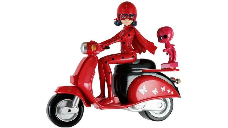 Bandai Miraculous Ladybug mit Scooter Spielset