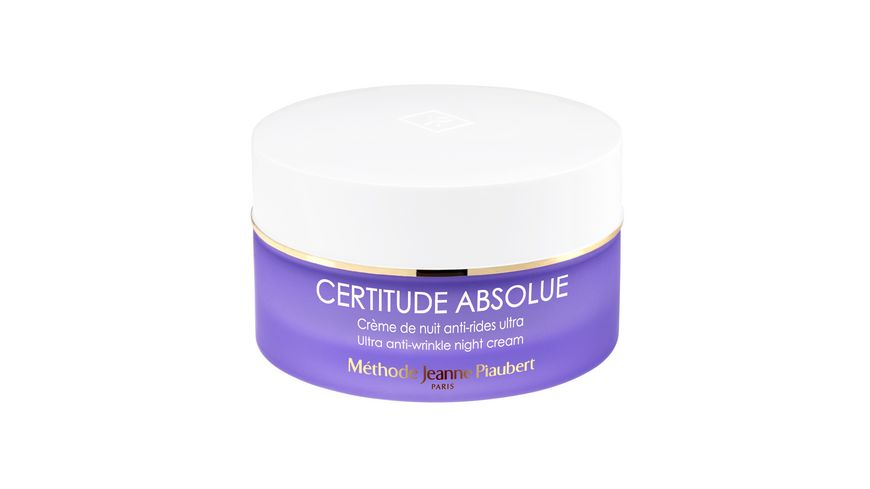 PIAUBERT Certitude Absolue Ultra Anti Wrinkle Night Cream