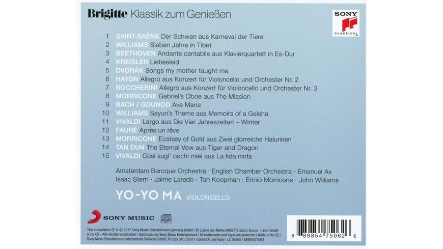 Brigitte Klassik zum Geniessen Yo Yo Ma