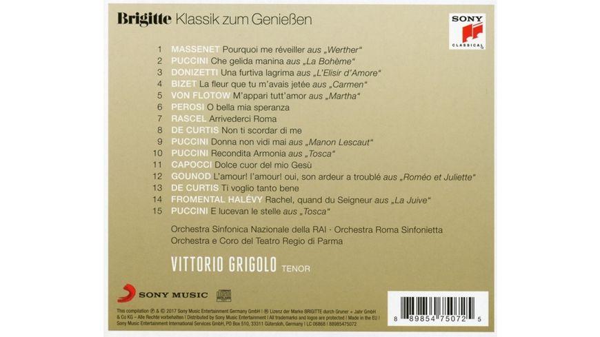 Brigitte Klassik zum Geniessen Vittorio Grigolo