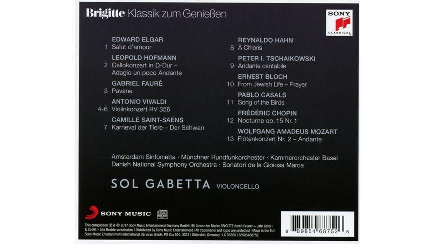 Brigitte Klassik zum Geniessen Sol Gabetta