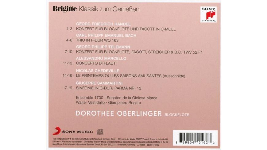 Brigitte Klassik zum Geniessen Dorothee Oberlinger