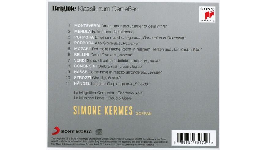 Brigitte Klassik zum Geniessen Simone Kermes