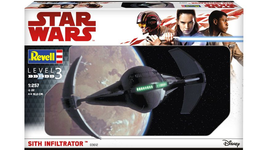 Revell 03612 Star Wars Sith Infiltrator