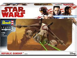 Revell 03613 Star Wars Republic Gunship