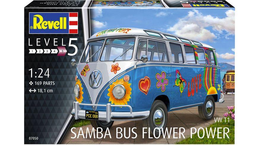 Revell 07050 VW T1 Samba Bus Flower Power