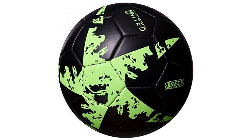 Best Fussball Glow In The Dark Stern gruen Groesse 5