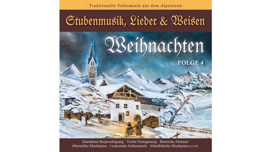 WEIHNACHTEN Stubenmusik Lieder Weisen 4