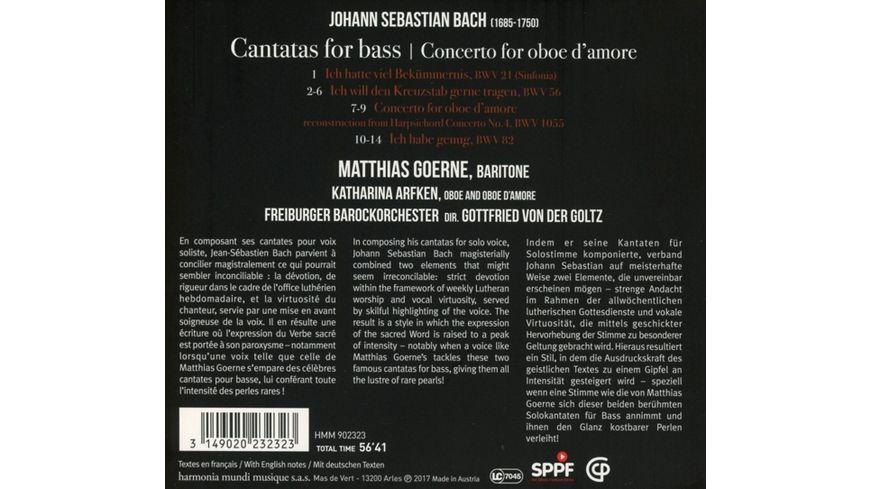 Kantaten Fuer Bass BWV 56 82