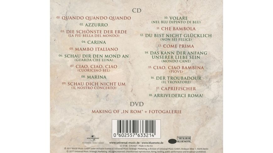 In Rom Limited Deluxe Edition CD DVD