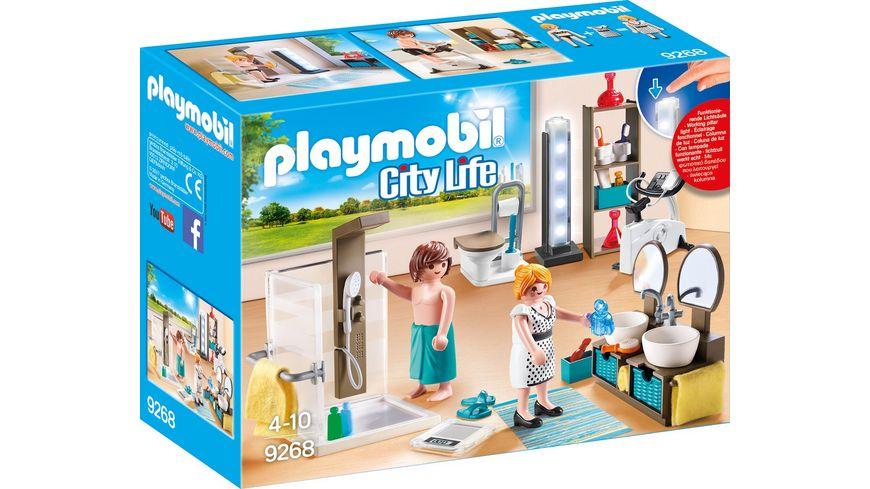 PLAYMOBIL 9268 City Life Badezimmer