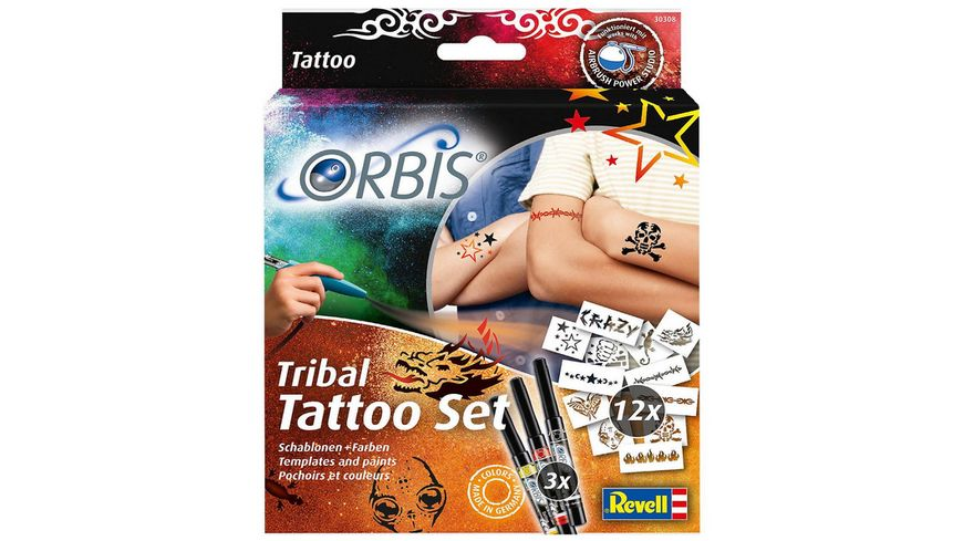 Revell 30308 Tribal Tatoo Set