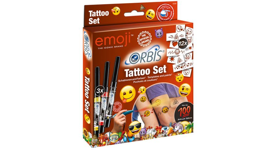 Revell 30309 Orbis Emoji Tatoo Set