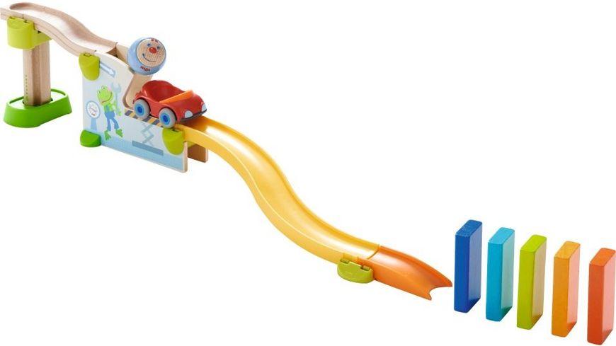 HABA Kullerbue Spielbahn Ab ins Auto