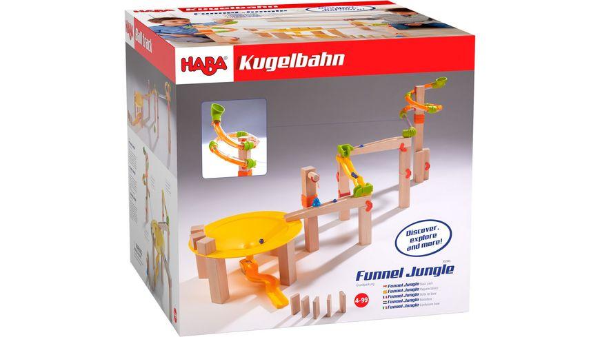 HABA Kugelbahn Grundpackung Funnel Jungle