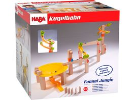 HABA Kugelbahn Grundpackung Funnel Jungle