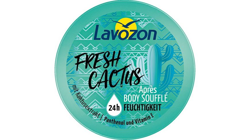 Lavozon Fresh Cactus Apres Body Souffle