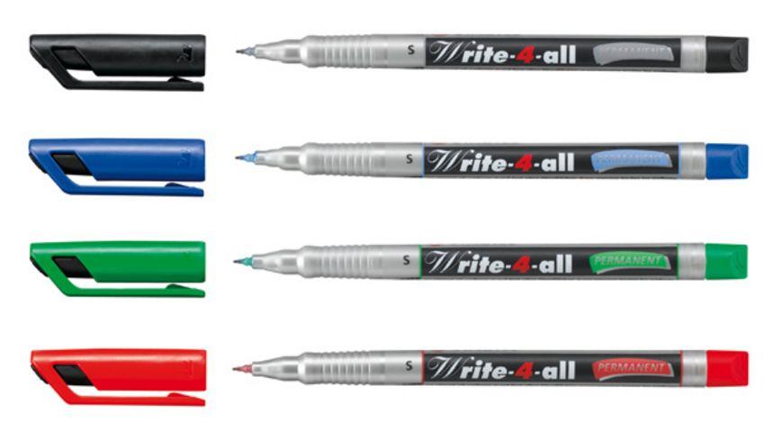 STABILO Permanent Marker Write 4 all SF 4er Pack