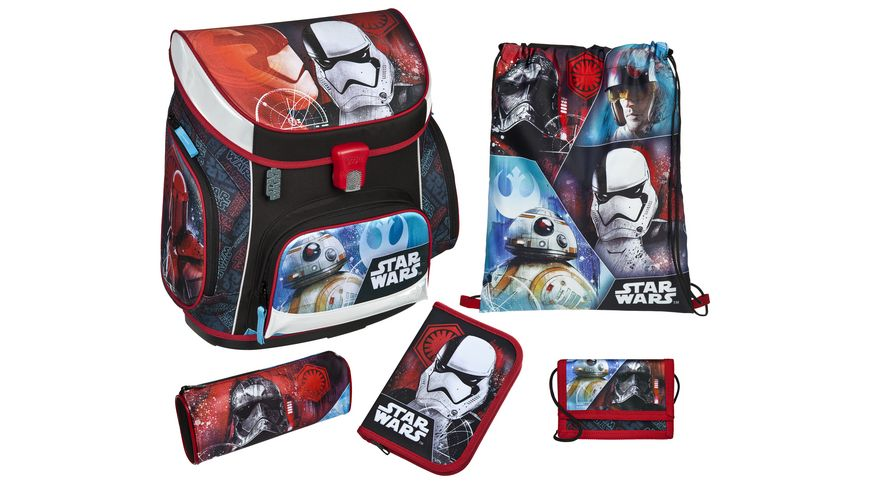 Scooli Campus Up Schulranzen Set 5tlg Star Wars