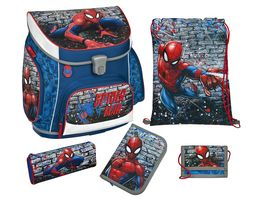 Scooli Campus Up Schulranzen Set 5tlg Spider Man