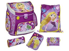 Scooli Campus Up Schulranzen Set 5tlg Rapunzel
