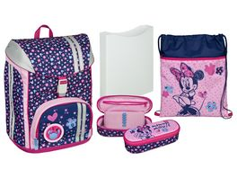 Scooli FlexMax Schulranzen Set 5tlg Minnie Mouse 2018