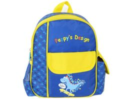 Peppy s Kinderrucksack blau gelb