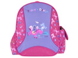 Peppy s Kinderrucksack violett pink