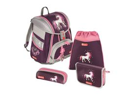 Step by Step Schulranzen Set Touch 2 4tlg Unicorn