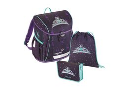 baggymax Schulranzen Set Fabby 3tlg Crown