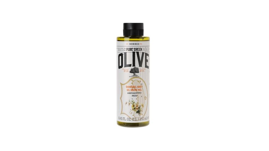 KORRES Olive Honey Duschgel