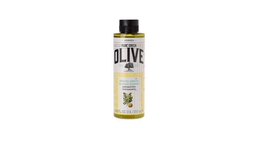 KORRES Olive Bergamot Duschgel