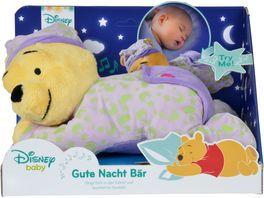 Simba Disney Winnie Puuh Gute Nacht Baer mit Leuchtsymbolen