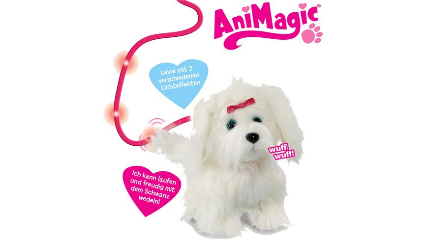 Vivid Animagic Fluffy Hund