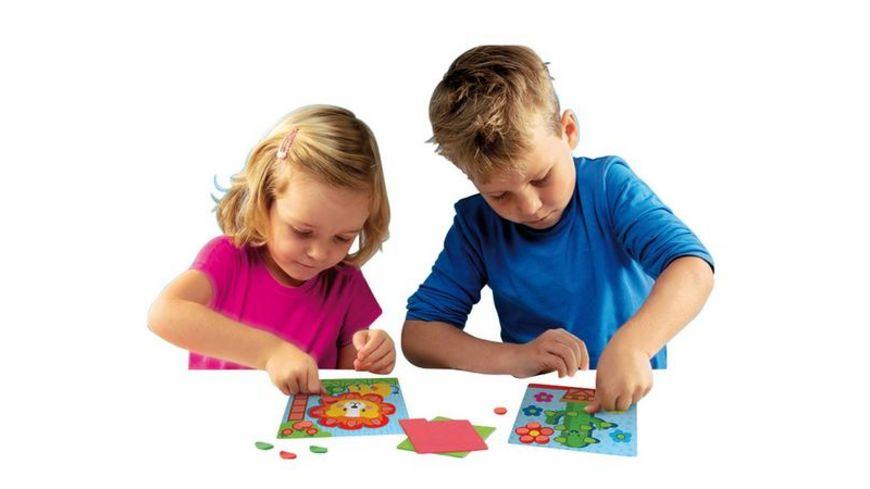 SES Creative Ich lerne Schneiden Mosaike legen und Prickeln
