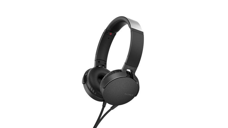 Sony Kopfhoerer MDR XB550 AP Schwarz