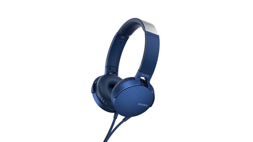 Sony Kopfhoerer MDR XB550 AP Blau