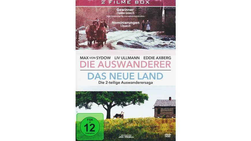 Die Auswanderer Das Neue Land Die 2 teilige Auswanderersaga 2 DVDs