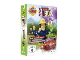 Feuerwehrmann Sam Movie Box Limited Edition 3 DVDs