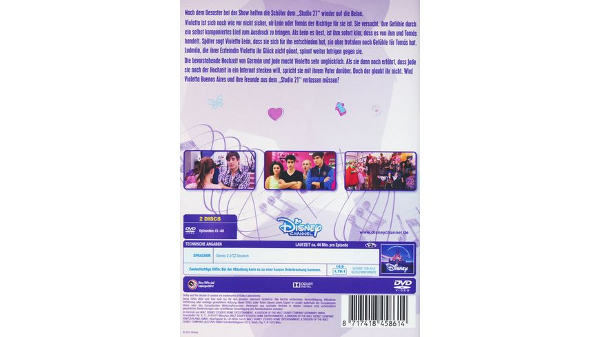 Violetta Staffel 1 6 2 DVDs