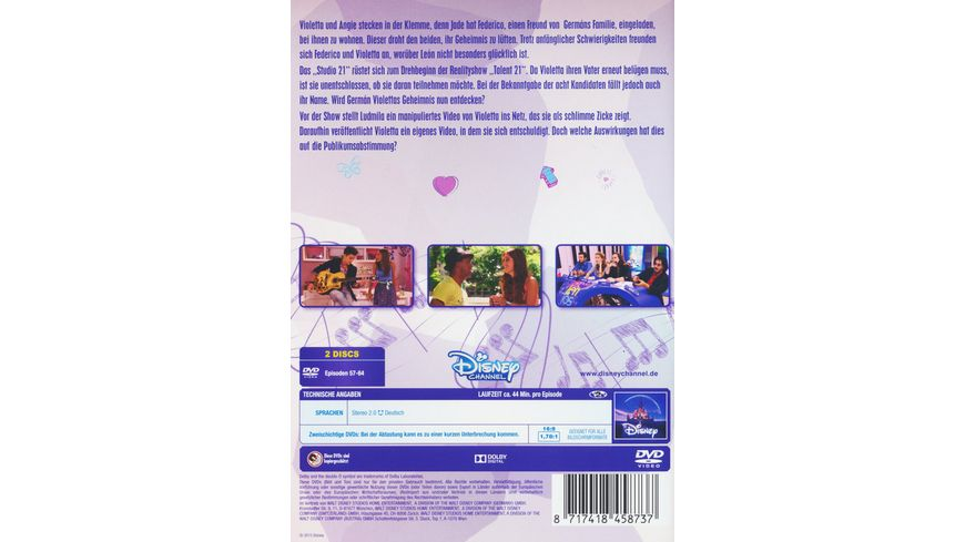 Violetta Staffel 1 8 2 DVDs