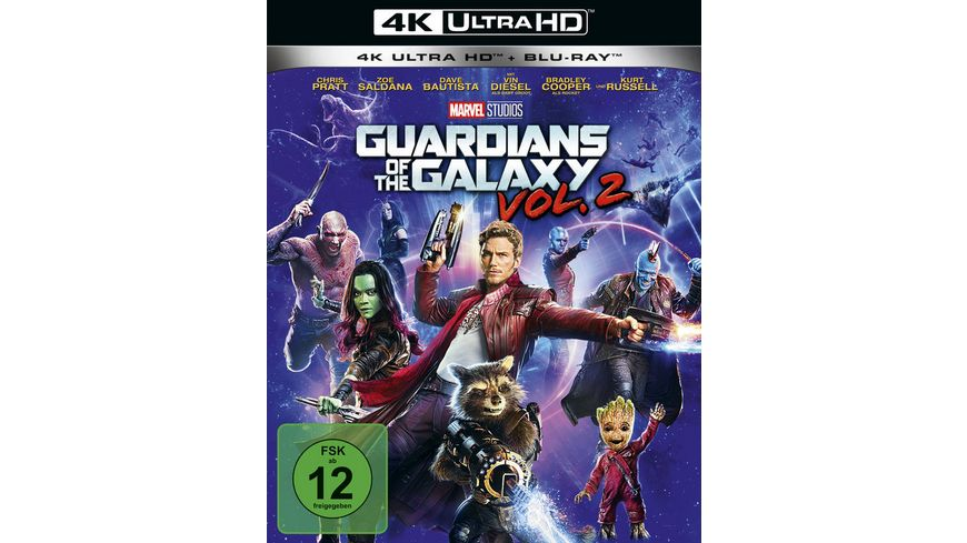 Guardians of the Galaxy 2 4K Ultra HD Blu ray 2D
