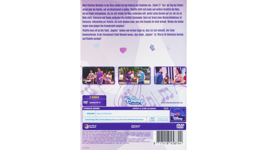 Violetta Staffel 1 9 2 DVDs