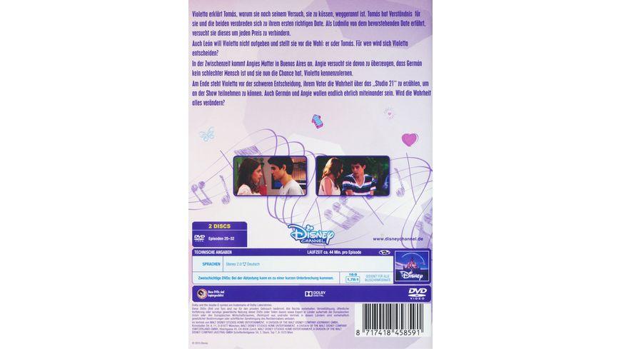 Violetta Staffel 1 4 2 DVDs
