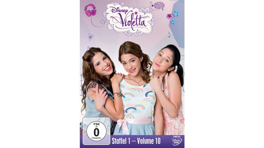 Violetta Staffel 1 10 2 DVDs