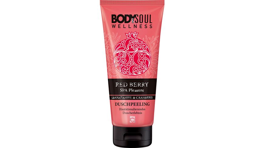 BODY SOUL Duschpeeling Red Berry