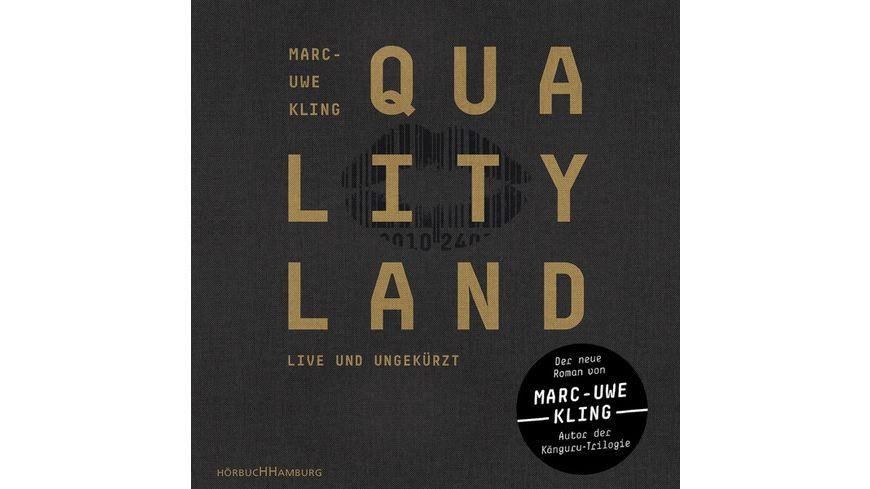 Marc Uwe Kling Qualityland Schwarze Edition